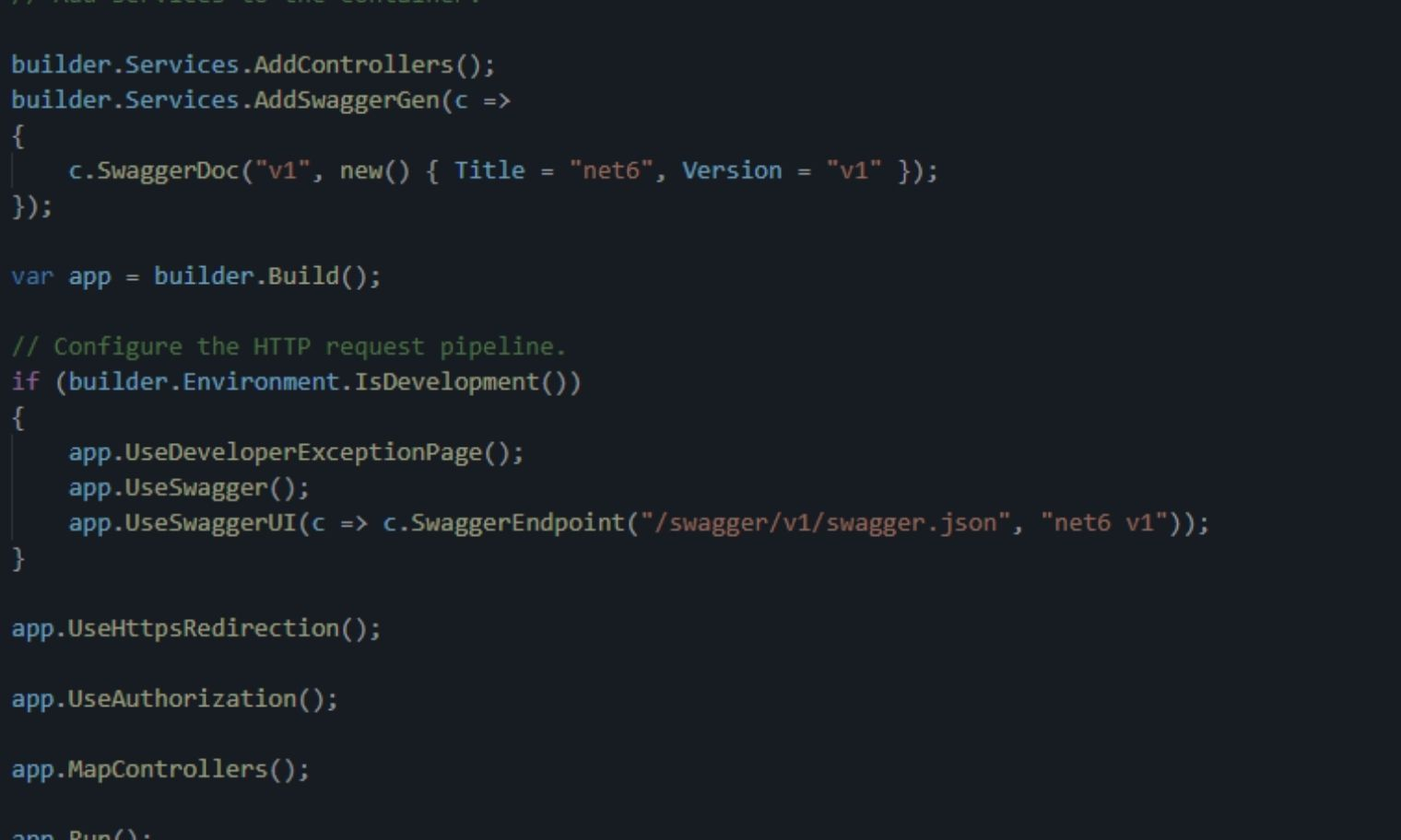.NET 6 – Minimal API